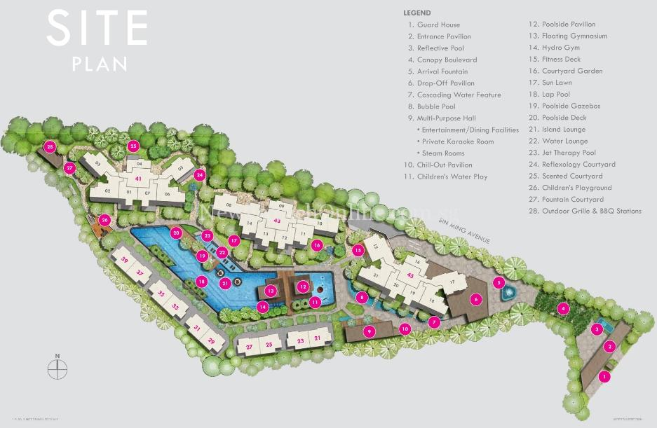 Thomson Three Site Plan